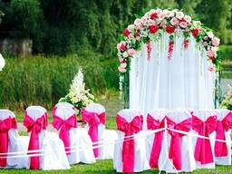 """Выездная церемония """"Под ключ"""". Свадебная арка."""