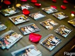 Выездная фотопечать магнитов, фотографий на ваше мероприятие