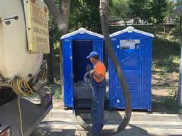 Выкачка, мойка биотуалетов, туалетов/ обслуживание Аренда
