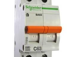 Выключатель автоматический ВА63 1П H 25А С 11215 (Домовой)