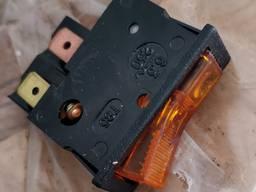 Выключатель клавишный ВК-42 6.3А, с подсветкой
