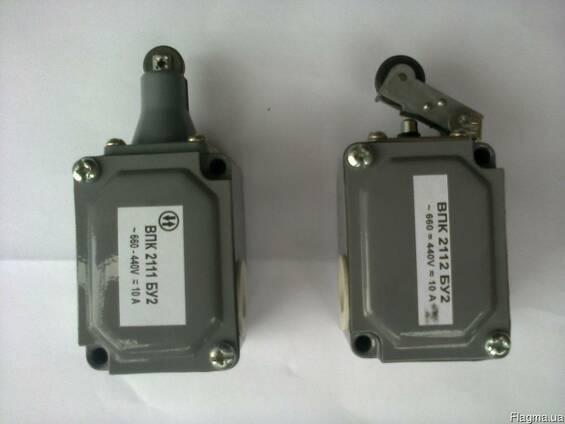 Выключатели ВПК-2110 БУ2, ВПК-2111 БУ2, ВПК-2112 БУ2