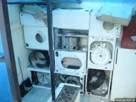 Выкуп и утилизация стиральных машин Киев