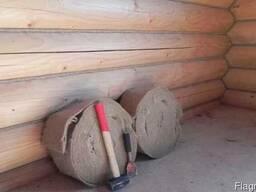 Межвенцовий утеплювач Frost (фрост) для зрубів будинку лазн