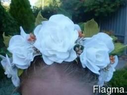 Выполню украшения для волос ручной работы на заказ