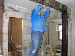 Вырубка стен, проемы, демонтаж.Ремонт под ключ.
