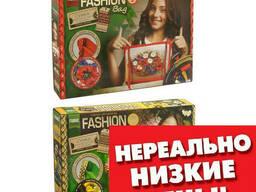 Вышивка-сумка лентами Fashion Bag Данко Тойс SKL11-221008