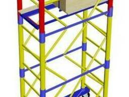 Вышка-тура 1, 6х0, 8 на колёсах Этажность 3 плюс 1
