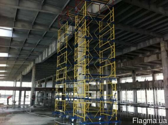 Вишка-тура будівельна висота 3.9-20.7 м настил 2х2