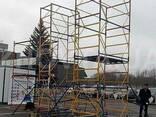 Вишка-тура будівельна висота 3.9-20.7 м настил 2х2 - фото 2