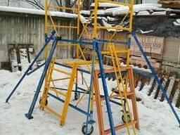 Вышка - тура строительная бу 0,8х1,7м - 5.2м