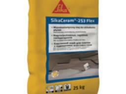 Высококачественный цементный клей для ПЛИТКИ КЛАССА C2 TE S1 SikaCeram-253 Flex, 25 кг