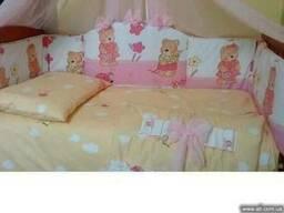 Высококачественные постельные комплекты в кроватку в полной