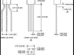 Транзисторы полевые импортные 2N7000 - BF245