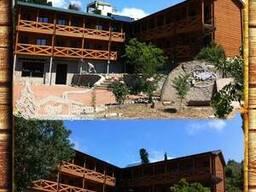 Выстроить гостиницу из сруба профилированного 310 м² в Крыму