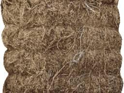 Строительный лен в тюках по 80 кг с доставкой на обект