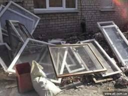 Вывоз демонтированных окон Днепропетровск