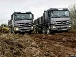 Вывоз грунта самосвалами Киев и область