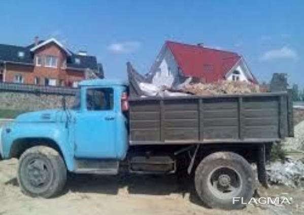 Доставка сыпучих материалов. Вывоз мусора/хлама. Демонтаж. Копка ям и траншей.