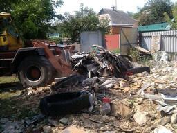 Вывоз мусора, очистка участков в Харькове