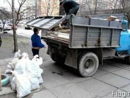 Вывоз мусора, строймусора, хлама. Чернигов. Самосвал 7т.