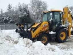 Вывоз снега и чистка Ирпень Буча Ворзель Гостомель