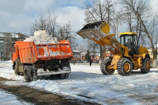 Уборка снега - Вывоз снега Одесса