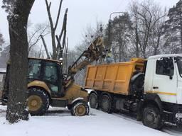 Уборка снега, чистка снега, вывоз снега
