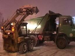 Вывоз снега, уборка снега Киев.