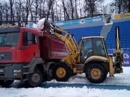 Вывоз снега , уборка снега Киев.