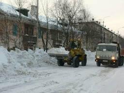 Вывоз снега Уборка снега с территорий Киев.