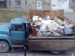Вывоз строительного и бытового мусора, есть грузчики