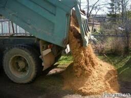 Вывоз строительного мусора. Песок. Щебень. Бетон. Отсев