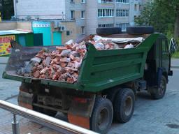 Вывоз строительного мусора, ветхих строений. Доставка всех видов сыпучих стройматериалов