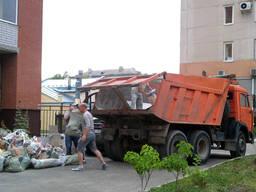 Вывоз строительного мусора, вывоз мусора киев