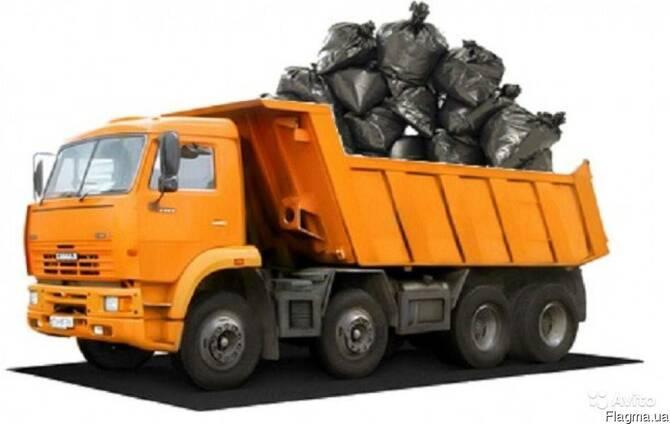 Вывоз строительного мусора, земли, мебели и т.п.