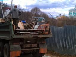 Вывоз строй мусора хлама старой мебели Газель Зил Камаз