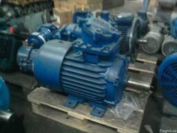 Взрывозащищенные электродвигатели 5. 5 кВт 3000 об/мин АИММ