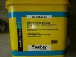 Weber. tec 901 (Eurolan 3К), банка 30л, битумная эмульсия