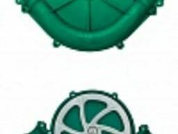 WL 10222017 Поворот 90° зелёный