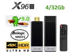 X96S Stick 4/32Гб S905Y2 ТВ приставка Smart TV box H96A95X