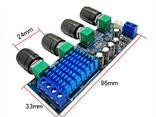XH-M577 Стерео усилитель Звука 2х80W D класс на TPA3116D2 с термоблоком - фото 3