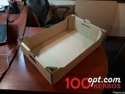 Яблочный лоток ящик для яблок из гофрокартона