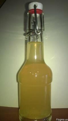 Яблочный уксус на мёде. Медовый уксус.