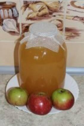 Яблучний оцет на медові. Медовий оцет.
