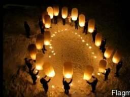 Небесные фонарики, паперові ліхтарі, ліхтарики бажань