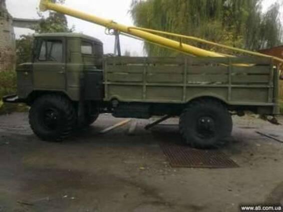 Ямобур БМ 302 на базе ГАЗ 66 пробег 1900км. с хранения.1800