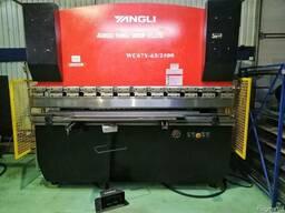 Yangli WC 67Y 63/2500 гидравлический листогиб гибочный пресс