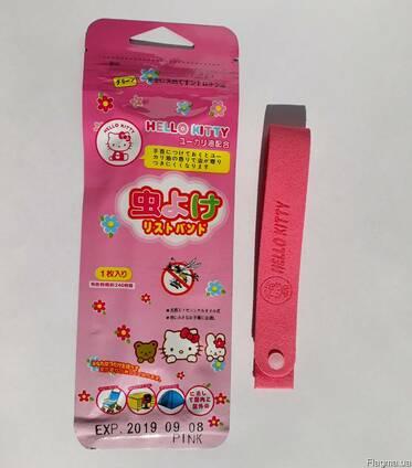 Японский браслет от комаров Hello Kitty