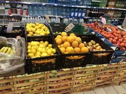 Ящик 23-й складной пластиковый для овощей и фруктов